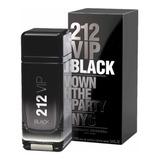 212 Vip Black 100ml Eau De Parfum +amostra Brinde