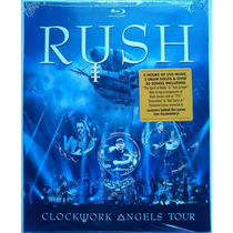 Blu-ray Rush: Clockwork Angels Tour [eua] Novo Lacrado