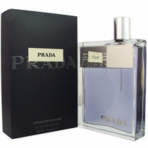 Perfume Prada Amber Pour Homme 100 Ml - Original E Lacrado