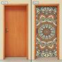 Adesivo Decorativo De Porta - Mandala - 294mlpt