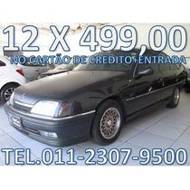 Chevrolet Omega Entrada + 12 X 499,00 Fixas No Cartão