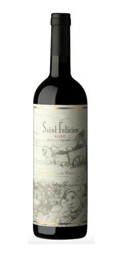 Vinho Argentino Saint Felicien Malbec 750ml