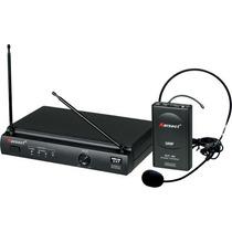Microfone S/ Fio Karsect Kru301 Headset Studio Som João !!