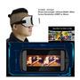 Oculos Cardboard Google Premium Haste De Cabeça