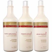 Inoar G-hair Escova Alemã Progressiva (3x1litro) + 1 Brinde