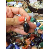 Jóia/ Pingente De Pedra Ônix Natural /3cm