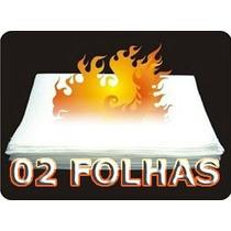 Flash Paper - Papel Flash - 02 Folhas