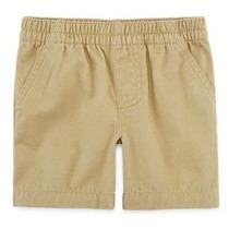 Roupas De Bebe Shorts Masculino Bege Com Bolsos - Okie Dokie
