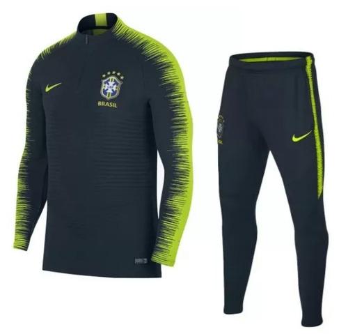 Agasalho Seleção Brasil - Nike Dry-fit 2018 e7b0ec3717f33