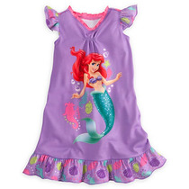 Camisola Infantil Disney Ariel Pequena Sereia Original