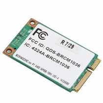 Placa Rede Pci Wi Fi Qds-brcm1036 Note Hp Dv4-1220us (5162)