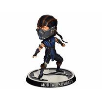 Boneco Sub-zero Mortal Kombat X Bobblehead Mezco Toys