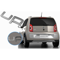 Emblema Cromado Up Para Porta-malas Do Volkswagen Up