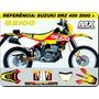 Kit De Adesivos -drz 400 2000 - Geico -qualidade 3m