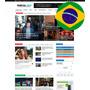 Tema Portal De Noticias 2017 Wordpress + Hospedagem Grátis