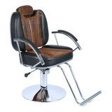 Cadeira De Barbeiro Cabeleireiro Reclinável Hidráulica Milla