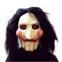 Máscara Jigsaw Jogos Mortais Fantasia Halloween Carnaval
