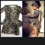 Vestido Infantil Oncinha + Tiara Grátis!!!!! Peplum Midi