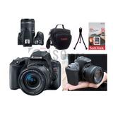 Câmera Canon Sl2 +18-55mm Is Stm +32gb Sdhc +nf-e +brindes