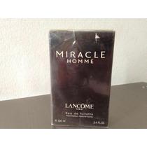 Miracle Homme Lancome 100ml Lacrado Raridade Extrema