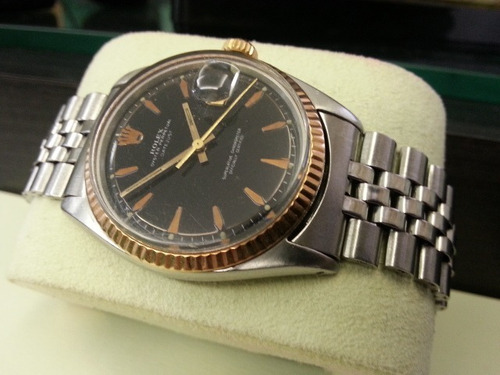 fd9412eaeff Rolex Date Just Misto 36 Mm Impecável