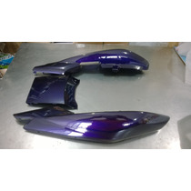 Rabeta Completa Yamaha Ybr 125 Factor K/e/ed 2009/2012 Roxa