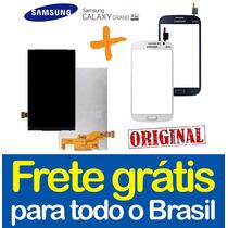 Kit Tela Touch + Display Lcd Galaxy Grand Duos I9082 Orignal