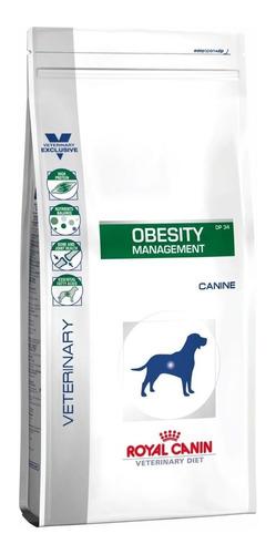 Ração Royal Canin Obesity Management (dp 34) Veterinary Diet Canine Cachorro Adulto Todos Os Tamanhos 10.1kg