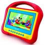 Dvd Infantil Portátil Kids Tectoy + Dvd A Casa Do Mickey