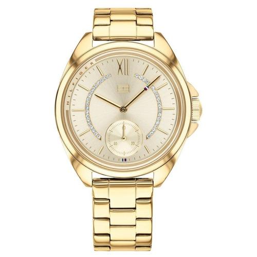 c5c47d2675b Relógio Tommy Hilfiger Feminino Gold 1781988