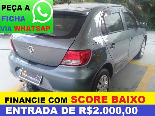 9b6a100490 VOLKSWAGEN GOL COMPLETO-AR FINANCIAMENTO COM SCORE BAIXO