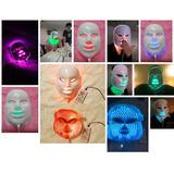 Máscara Led 7cores Fototerapia Facial Tratamento Pele Oferta