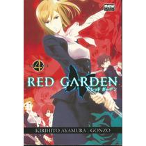 Red Garden - Coleção Completa - Vol. 1 E 4 ¿ Editora Panin