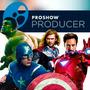 Vingadores - Proshow Producer - Projeto