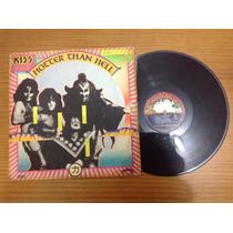 Lp Kiss Hotter Than Hell 1975 Original Excelente Condição