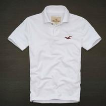 Camisa Polo Masculina Camiseta / Hollister - Várias Cores