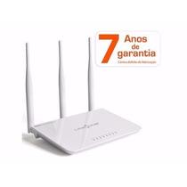 Roteador Wireless Link-one L1-rw333 - 300mbps 3 Antenas 4 Po