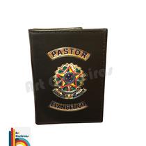 Carteira Porta Funcional Pastor Evangélico Republica