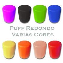 Puff Puf Pufe Decorativo Redondo.