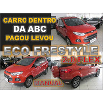 Ecosport Freestyle 2.0 Flex - Ano 2014 - Financiamento Facil