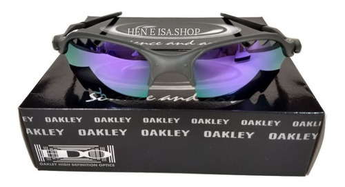 3fb65a023 Oculos Oakley Romeo 2 Parriot Roxa + Teste+certificado 12x S