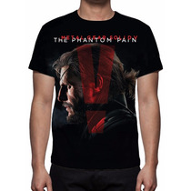 Camisa, Camiseta Game Metal Gear Solid 5 The Phantom Pain