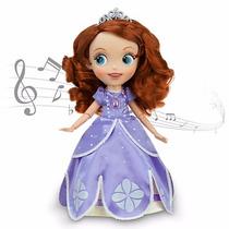 Princesinha Sofia Era Uma Vez Boneca Musical Da Disney 30cms