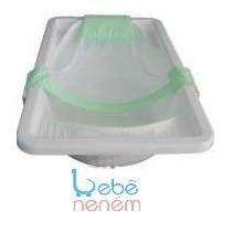 Rede Proteção Para Banho De Banheira - Verde. Bebê Neném