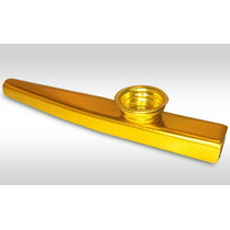 Kazoo Em Metal Profissional - Elite - Dourado