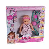Boneca Baby Luni Médico - Divertoys