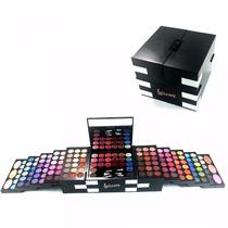 Maleta Maquiagem Profissional Completa Com 152 Itens !!