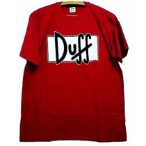 Camisetas Cerveja Duff Homer Simpson Duff Beer Bart