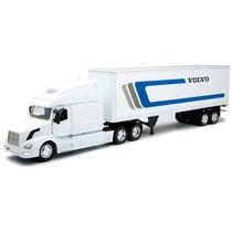 Caminhão Volvo Vn 780 Container 1:32 New Ray Branco