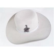 Chapeu Country Rodeio Pralana Feltro Gelo Branco